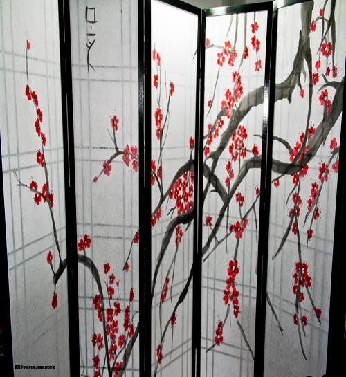 פרגוד 5 דלתות אדום