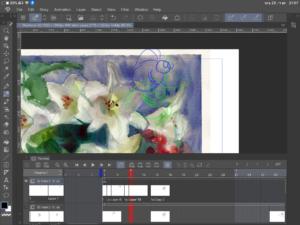 צילום מסך מתוכנת אנימציה