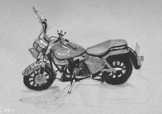 רישום של אופנוע 001