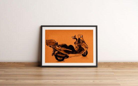 קטנוע קראפט רוחבי