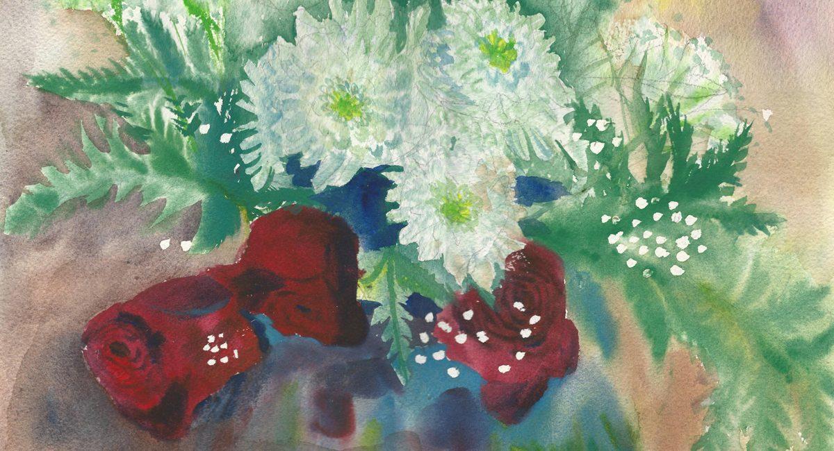 זר של ורדים 2